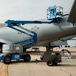 Scissor Lift for Aircraft Maintenance